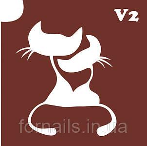 Трафарет для биотату №V2