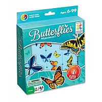 Настольная игра-головоломка Бабочки (Метелики, Butterflies) TM Smart games (SG 495), фото 1