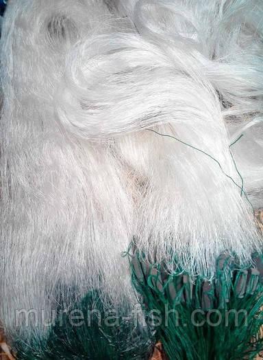Сеть порежная сетка трехстенка 3м*100м  из лески белая Ø50, 55 Каида - MURENA-FISH в Харькове
