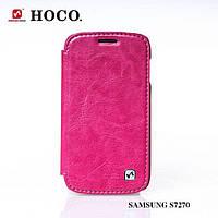 Чехол HOCO Crystal для Samsung S7270/S7272 Galaxy Ace 3 (Rose Red)