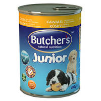 Butcher`s (Бутчерс) Basic Junior Кусочки курицы в желе 400гр
