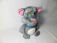 Интерактивная говорящая игрушка (повторюха) Кот Том №2112,говорящие игрушки