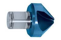 Зенковка d=25 мм из стали HSS-XE с покрытием BLUE-TEC с хвостовиком WELDON19 Karnasch (Германия)