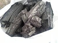 Горючий древесный уголь из дуба продам Олевск