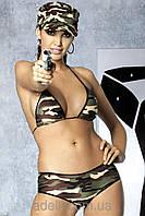 Эротический комплект девушки-солдата Obsessive Soldier bikini