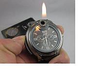 Зажигалка с часами,оригинальные подарки , необычные зажигалки, Новогодние подарки