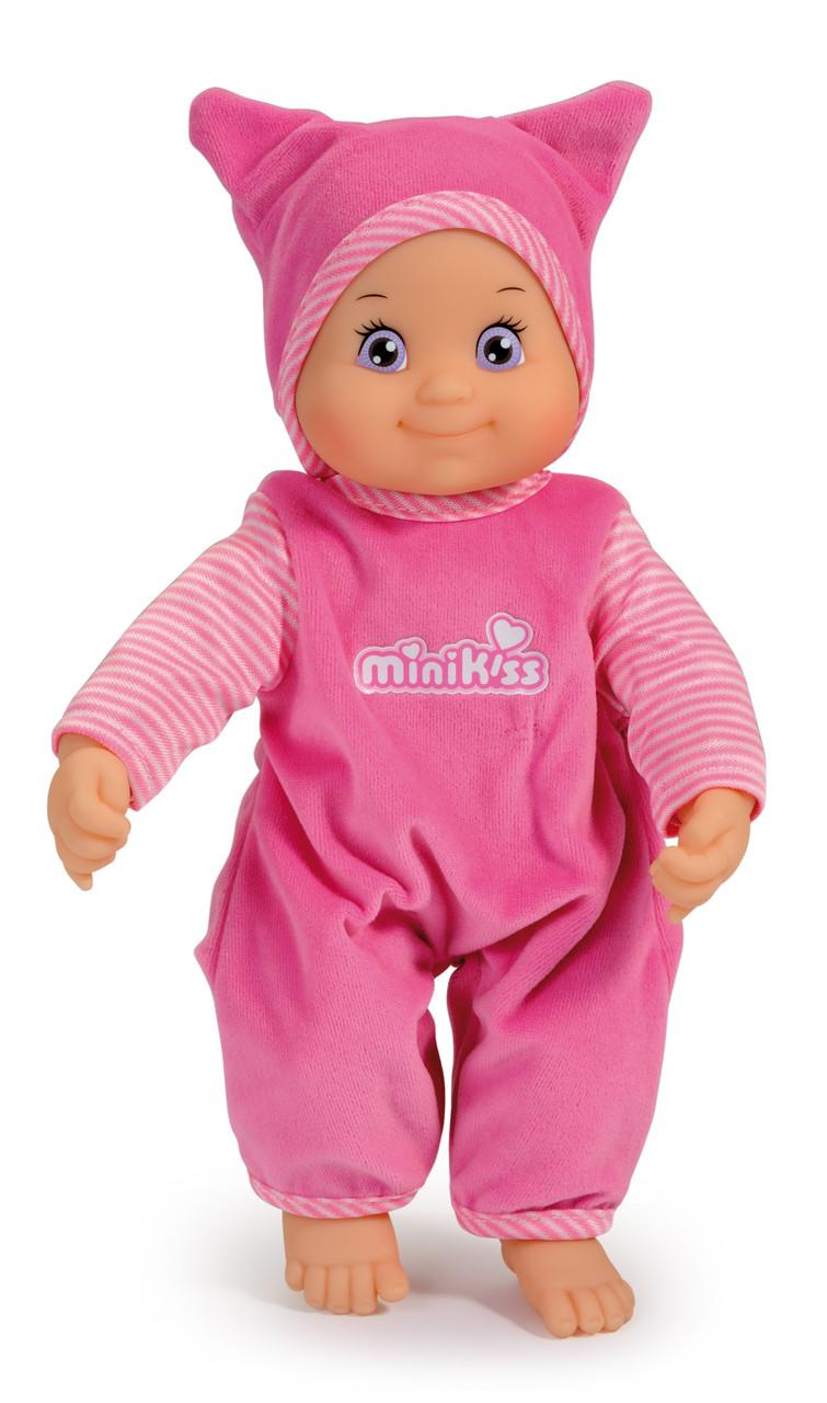 Кукла MiniKiss Smoby в розовом