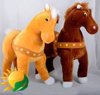 Мягкая игрушка Лошадь №65062,подарки для детей,пушистая,качественная, лучший подарок для малышей