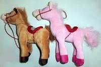 Мягкая игрушка Лошадь №1253-128,подарки для детей,пушистая,качественная, лучший подарок для малышей