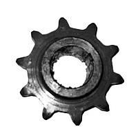 Звездочка z=10 t=38 наклонной камеры верхний вал ПАЛЕССЕ-1218,812