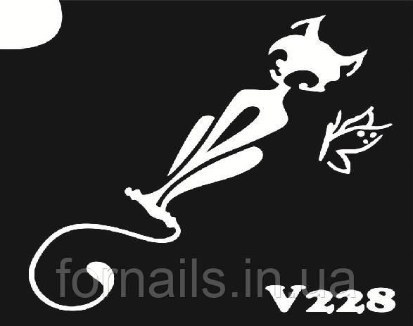 Трафарет для биотату №V228