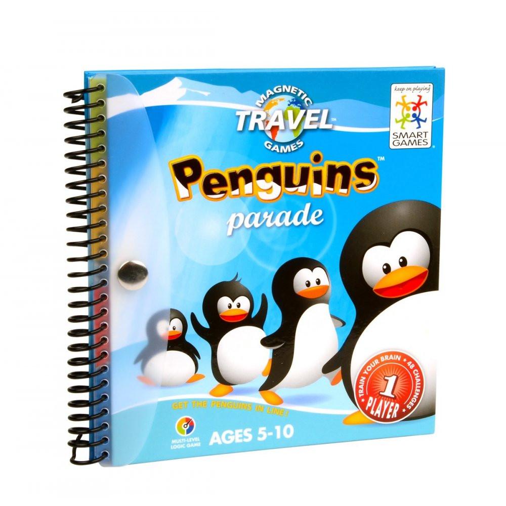 """Магнитная компактная игра """"Пингвины на параде"""" (Penguins Parade) TM Smart games (SGT 260-8)"""