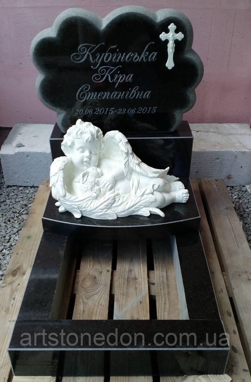 Памятник детский Облачко. Памятник младенцу
