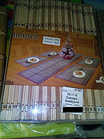 Скатерть бамбук + 4 салфетки 58-11N