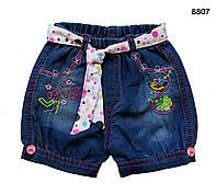 Джинсовые шорты для девочки. 2 года
