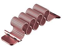 Миланский сетчатый ремешок для Apple Watch 42mm - Rose Gold