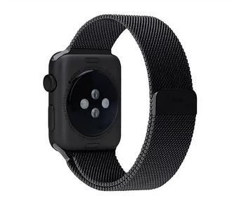 Миланский сетчатый ремешок Primo для Apple Watch 38mm / 40mm - Black