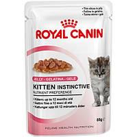Royal Canin Kitten Instinctive в желе  85g