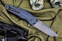 Нож складной Zorg Серый титан D2, Kizlyar Supreme,качественные , элитные,ножи кизляр,супер ножи