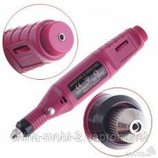Ручка фрезер 13000 для аппаратного маникюра и педикюра + набор фрез, красный, фото 3