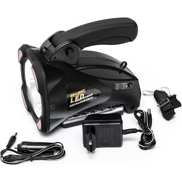 Ліхтар ручний акумуляторний GD-LITE GD-3601