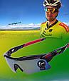 Защитные очки, очки для стрельбы, солнцезащитные, вело, тактические Shooter combo, фото 7