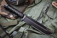 Охотничий нож Survivalist Z D2 Black Titanium, Kizlyar Supreme,качественные , элитные,ножи кизляр,супер ножи