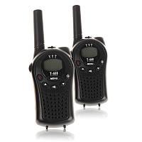 Рация Walkie-Talkie YYT T668 black черная  8 диапазонов, 3 ААА. Комплект 2 шт, оригинал Гарантия!