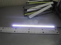 Дневные ходовые огни - фары дневного света - DRL COB - 17 см белые 1шт., фото 1