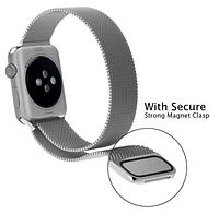 Миланский сетчатый ремешок для Apple Watch 38mm - Silver
