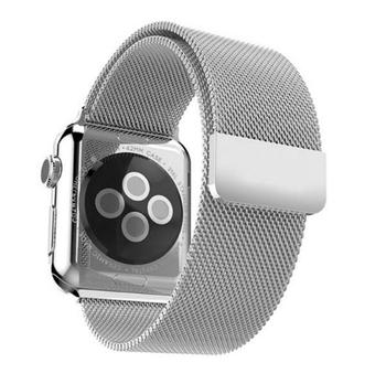 Миланский сетчатый ремешок Primo для Apple Watch 38mm / 40mm - Silver