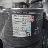 Кабель ВВГнг-П 2х1,5 (Запорожский завод цветных металлов)
