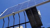 Автономный уличный светильник на солнечной энергии