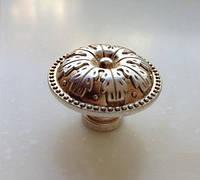 Ручка кнопка классическая RT-330/00 серебро