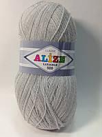 Пряжа lana gold 800 - цвет серый