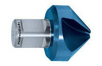 Зенковка d=40 мм из стали HSS-XE с покрытием BLUE-TEC с хвостовиком WELDON19 Karnasch (Германия)