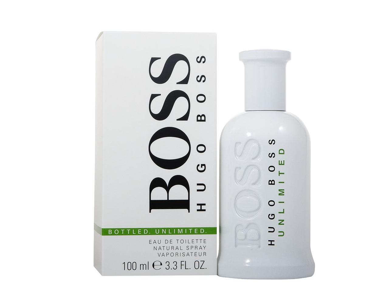 Мужская туалетная вода Hugo Boss Bottled Unlimited (100 мл ) белая