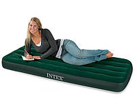 Надувной матрас Intex 66950 со встроенным ножным насосом, надувные матрасы, надувные кровати, кресла, товары
