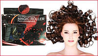 Мягкие бигуди Локон Magic Roller упаковка из 18 штук удлиненные спиральки, волшебный бигуди