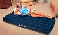Односпальный надувной матрас Intex 68757, надувные матрасы, надувные кровати, кресла, товары