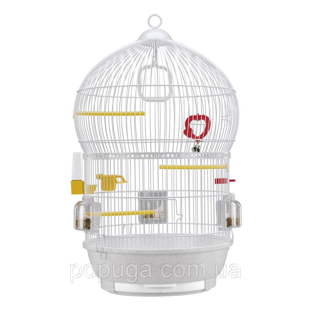 Клетка для попугаев Ferplast BALI WHITE, d43,5*68,5см