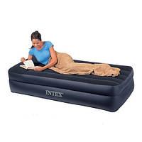 Надувная матраc ― кровать односпальная Intex 66721, надувные матрасы, надувные кровати, кресла, товары Intex