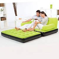 Надувной диван ― трансформер BestWay 67356 с насосом, надувные матрасы, надувные кровати, кресла, товары Intex