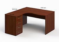 Угловой стол БЮ 1133026 (1400*1640*750)