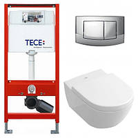 Набор инсталяция Tece Bace+Villeroy & Boch Subway 2.0