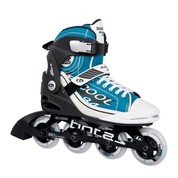 Роликовые коньки Botas B-COOL 84, бело-голубые (AS) 41
