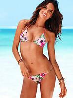 Купальник Victorias Secret с цветочным принтом и декором цепочками VS0217