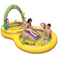 Надувной игровой центр Винни-Пух Disney intex 57451, надувные матрасы,бассейны, детские, товары Intex