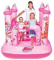 Надувной детский батут «Замок Винкс» Bestway 92010 (157х147х155 см),игро-центр надувной,бассейны,батуты, товар
