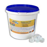 Химия для бассейнов Crystal Pool MultiTab 4-in-1Small,1кг, аксессуары Intex, насосы, весла, комплектующее для